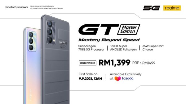 Realme GT Master Edition Is Available In Malaysia On 9 September, Starting From RM1,399 29
