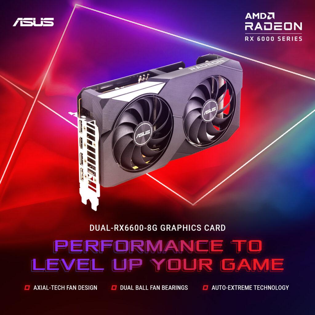 ASUS Dual Radeon RX 6600