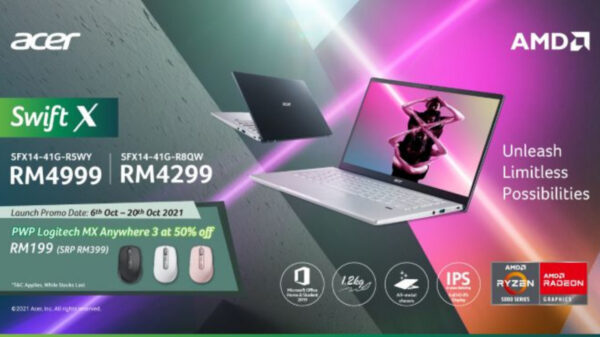 Acer Malaysia Introduces The Brand New AMD-Powered Acer Swift X And Acer Nitro 50; Priced From RM4,299 44
