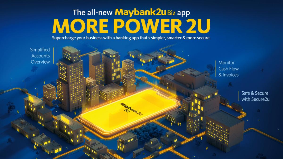 Maybank Launches Maybank2u Biz To Empower SMEs In Digital Transformation 18