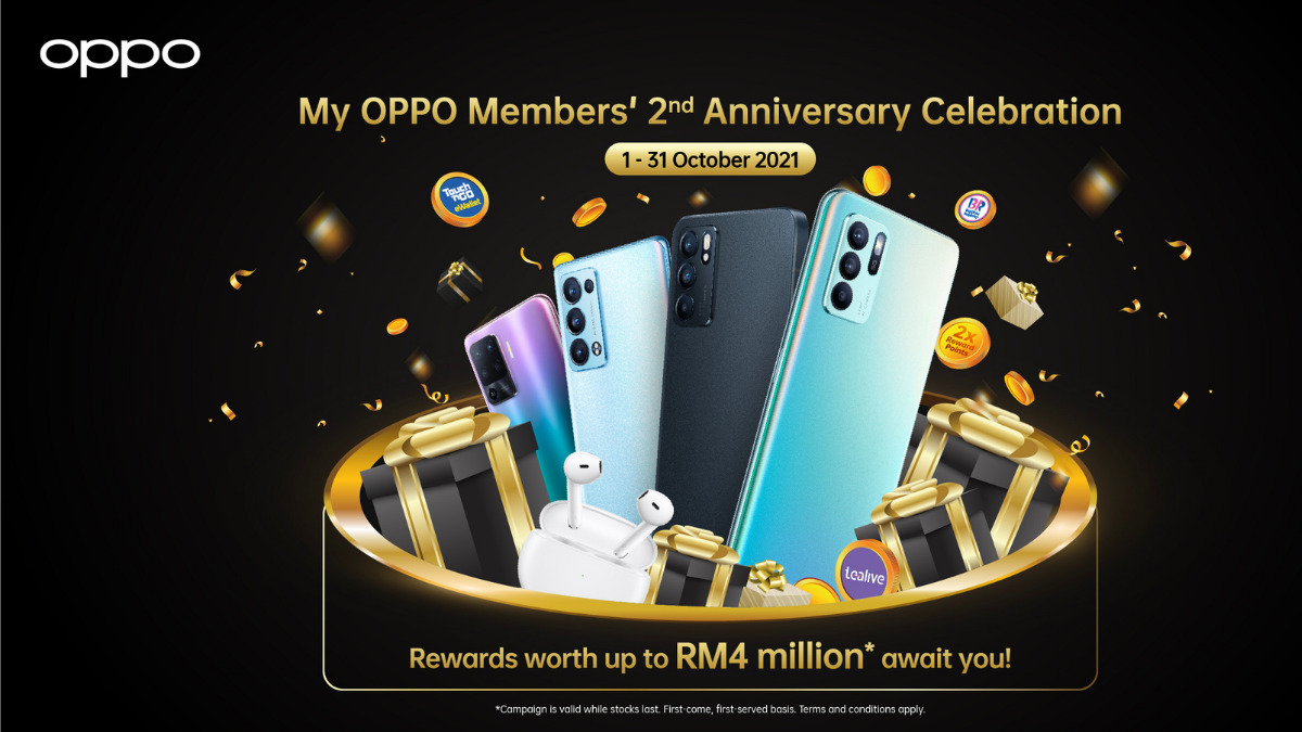 OPPO Members' 2nd Anniversary Celebration Offers RM2 Deals and Rewards Worth Up to RM4 million 16