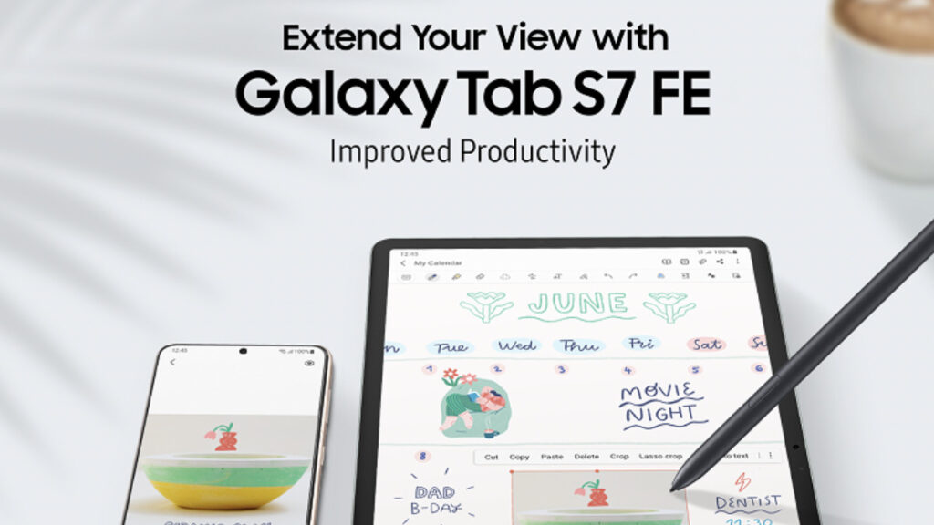 Samsung Galaxy Tab S7 FE Extends Your View And Productivity 14