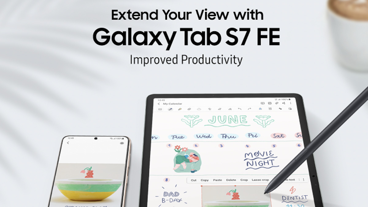 Samsung Galaxy Tab S7 FE Extends Your View And Productivity 20