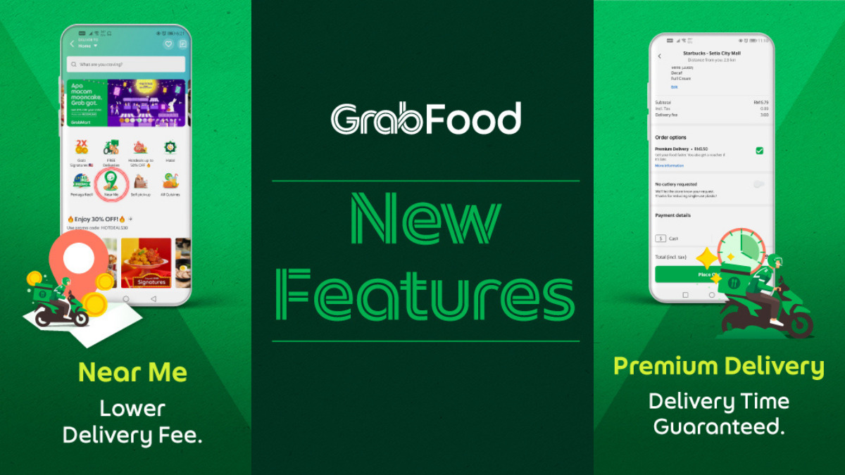 GrabFood Rolls Out 'Near Me' And 'Premium Delivery' New Features 16