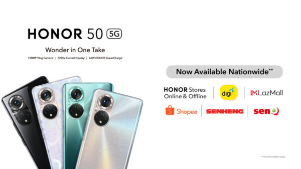 HONOR 50 is Available Nationwide; price Starting From RM1,699 7